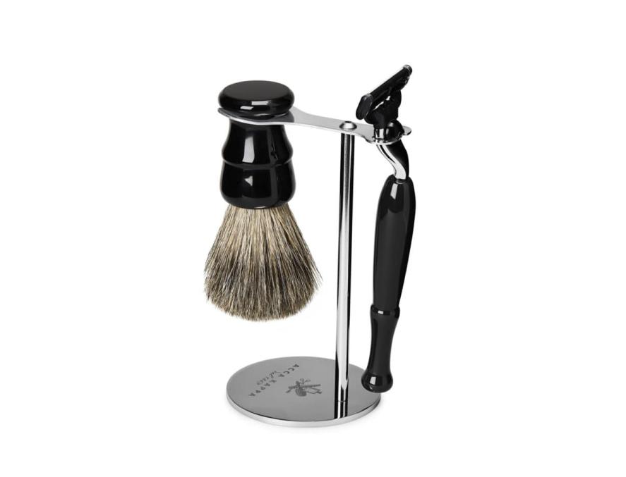 "Acca Kappa Shaving Set With Stand – Vintage – ""Mach 3"" Razor"